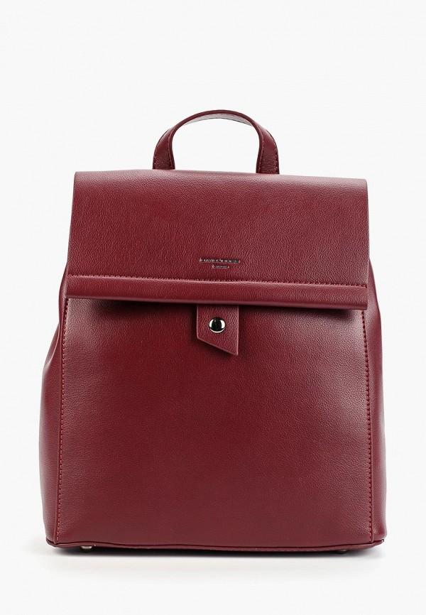 женский рюкзак david jones, бордовый