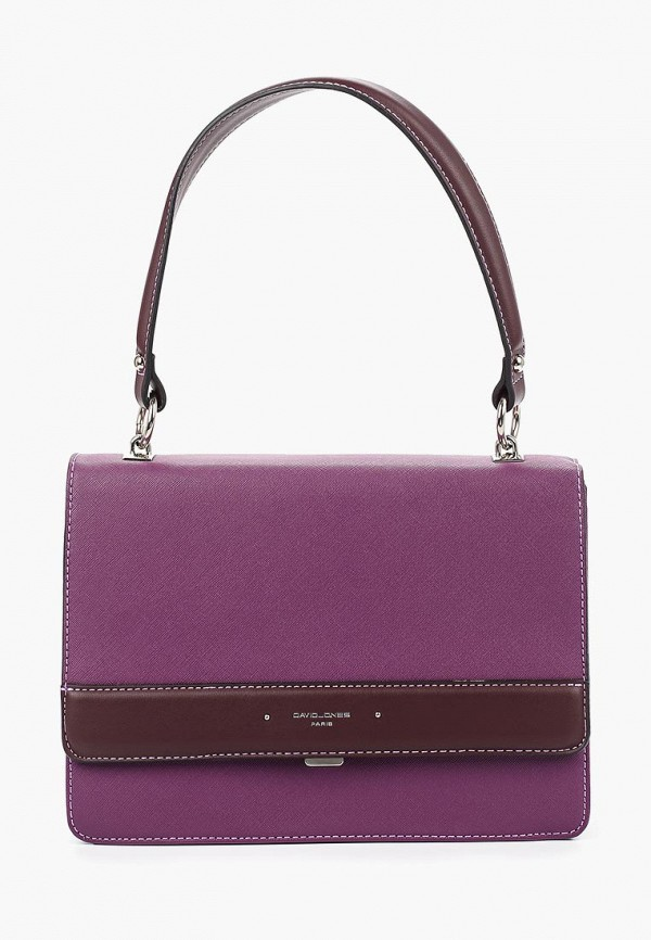 женская сумка david jones, фиолетовая