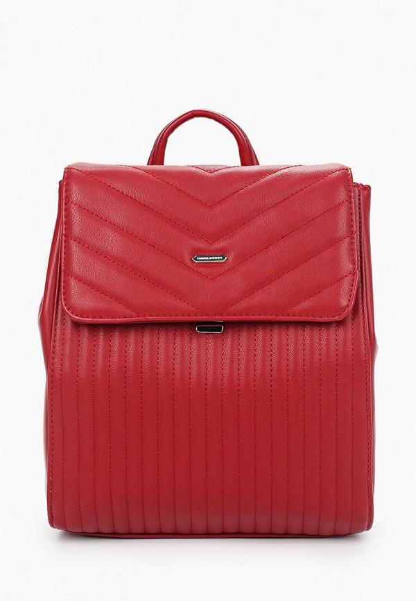 женский рюкзак david jones, красный