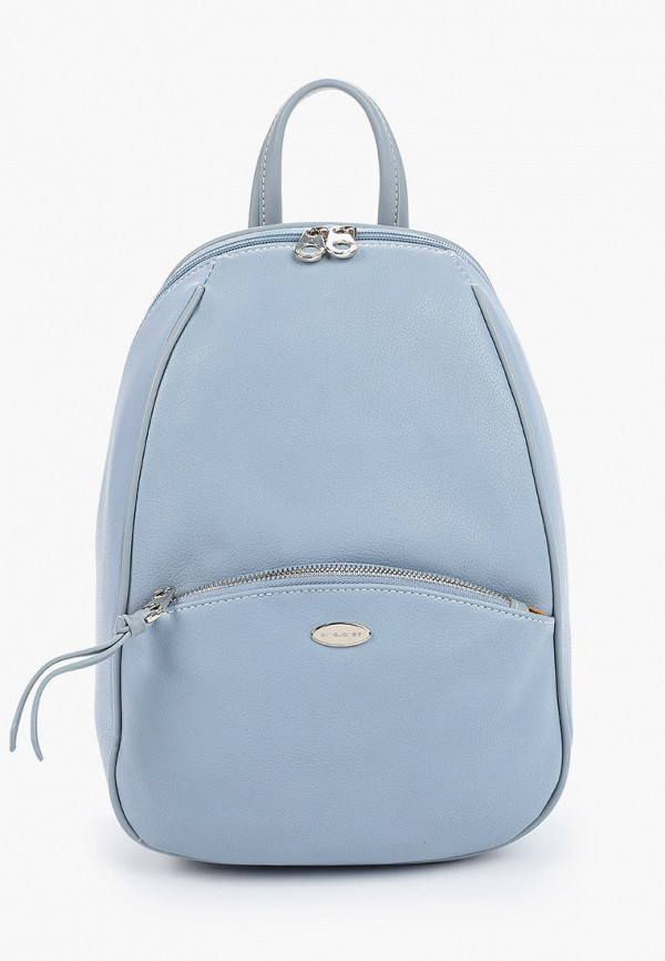 женский рюкзак david jones, голубой