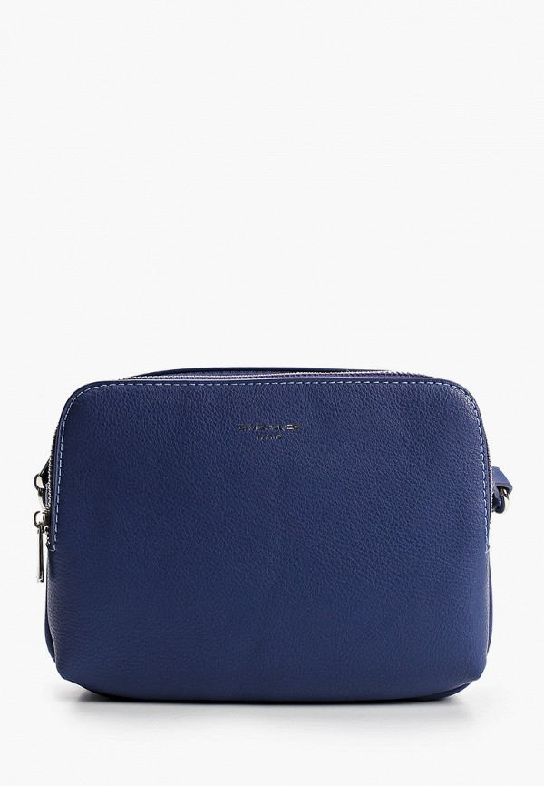 женская сумка через плечо david jones, синяя