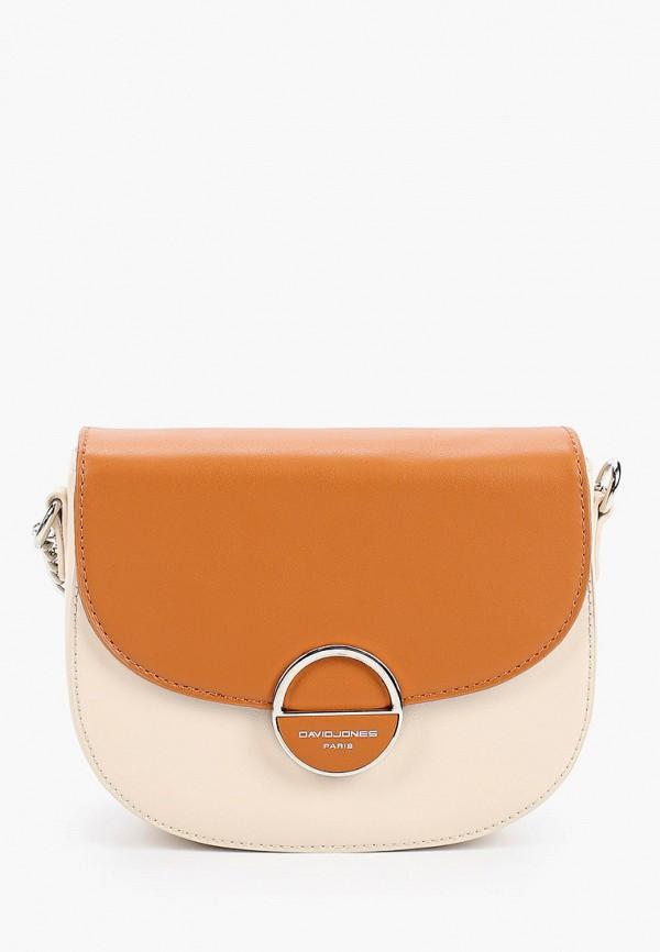 женская сумка david jones, разноцветная