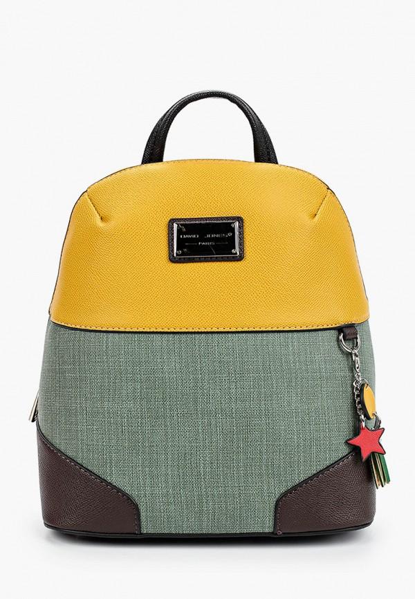 женский рюкзак david jones, разноцветный