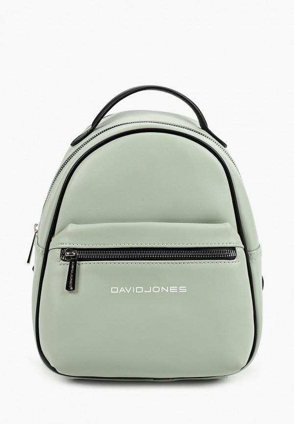 женский рюкзак david jones, зеленый