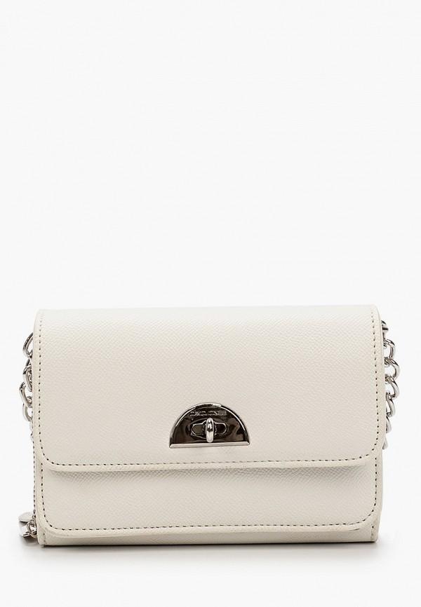 женская сумка david jones, белая