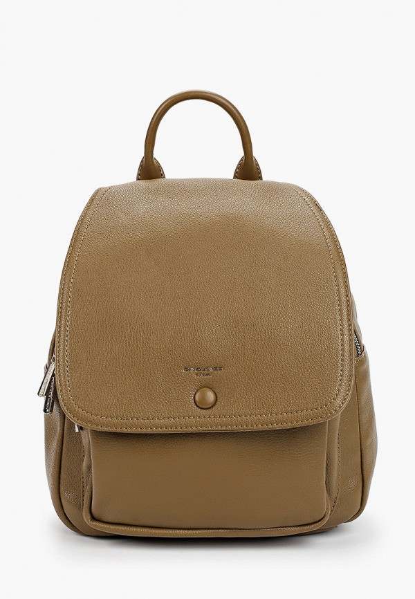 женский рюкзак david jones, хаки