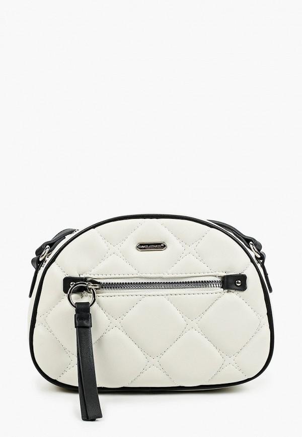 женская сумка через плечо david jones, белая
