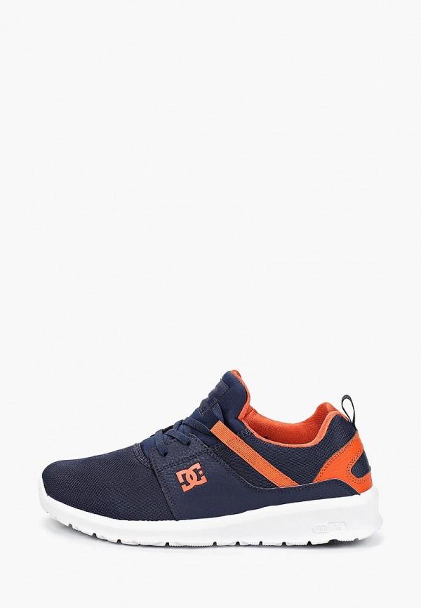 кроссовки dc shoes для мальчика, синие