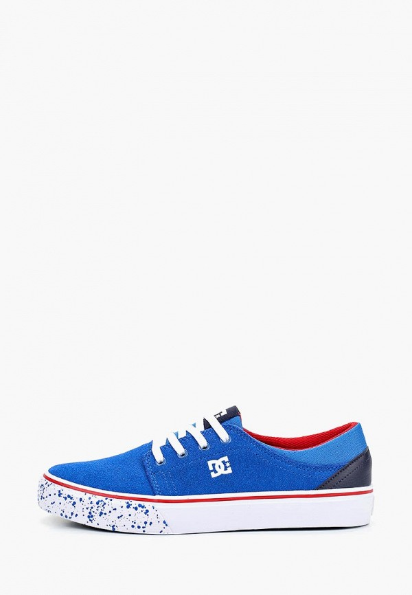 кеды dc shoes для мальчика, синие