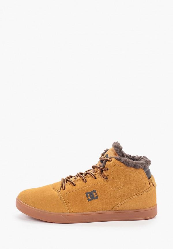 кеды dc shoes для мальчика, коричневые