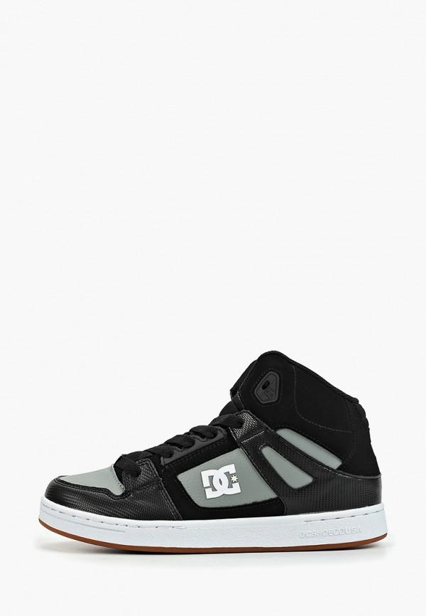 кеды dc shoes для мальчика, черные