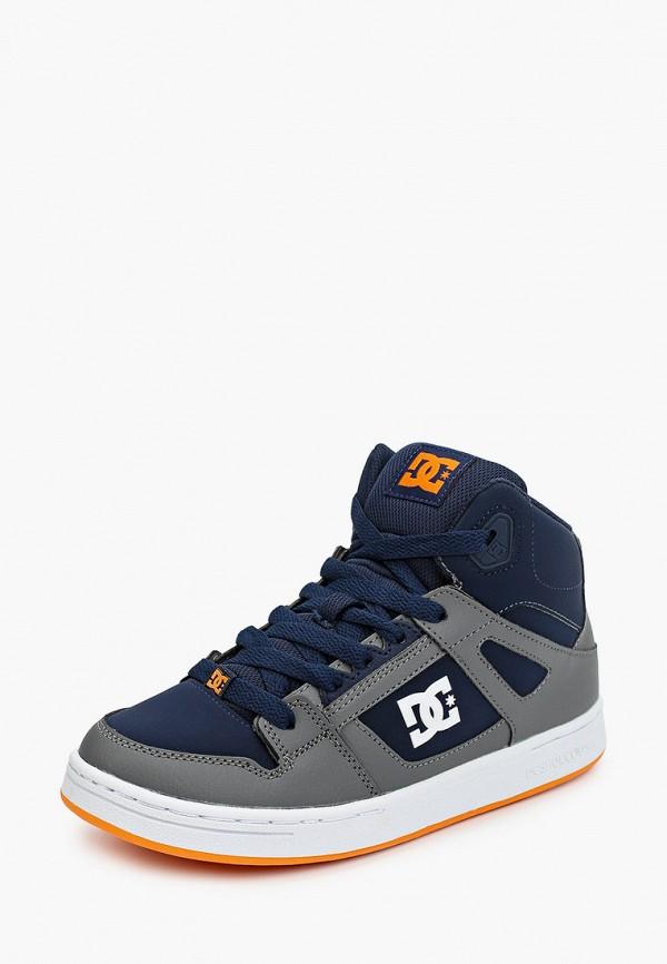 Фото 2 - Кеды DC Shoes синего цвета
