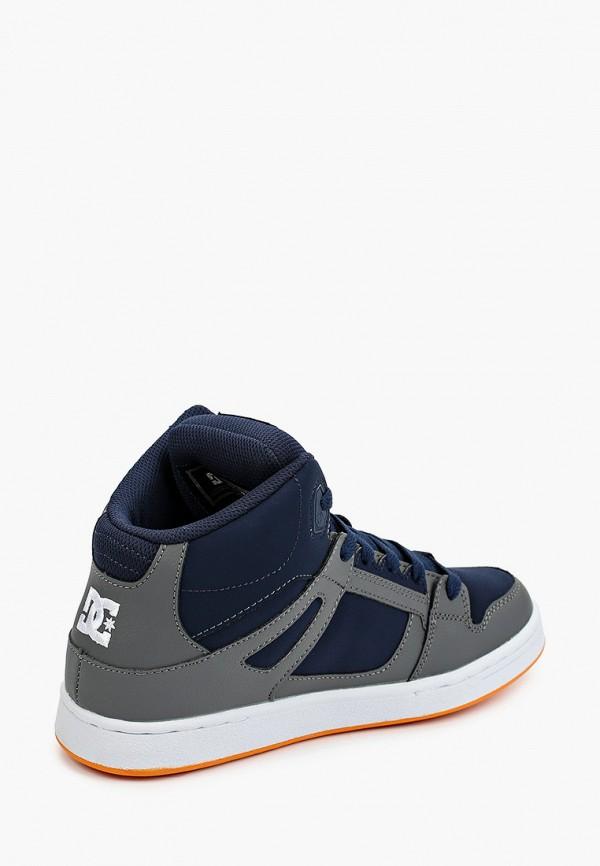 Фото 3 - Кеды DC Shoes синего цвета