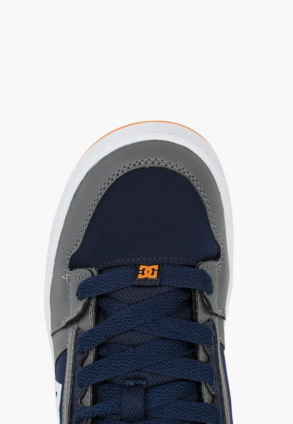 Фото 4 - Кеды DC Shoes синего цвета