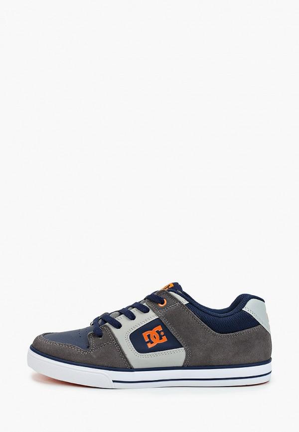 кеды dc shoes для мальчика, синие