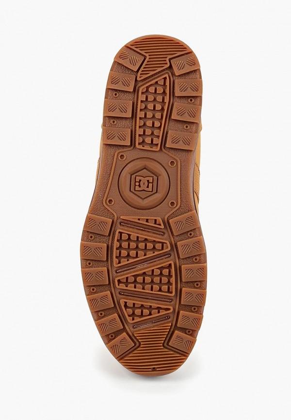 Фото 3 - мужские ботинки и полуботинки DC Shoes коричневого цвета