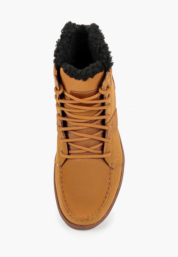 Фото 4 - мужские ботинки и полуботинки DC Shoes коричневого цвета
