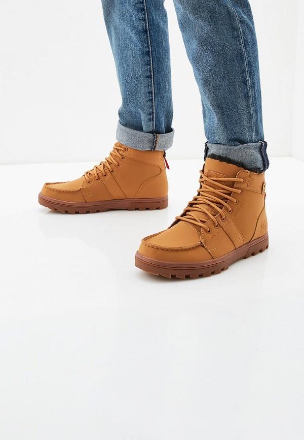 Фото 5 - мужские ботинки и полуботинки DC Shoes коричневого цвета