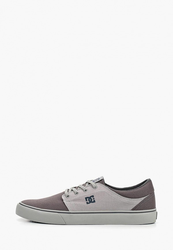мужские кеды dc shoes, серые