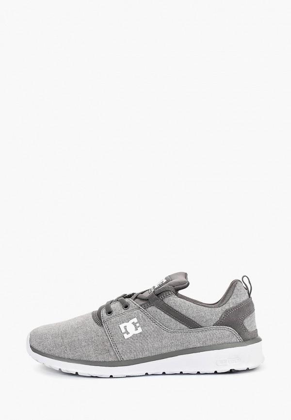 мужские кроссовки dc shoes, серые