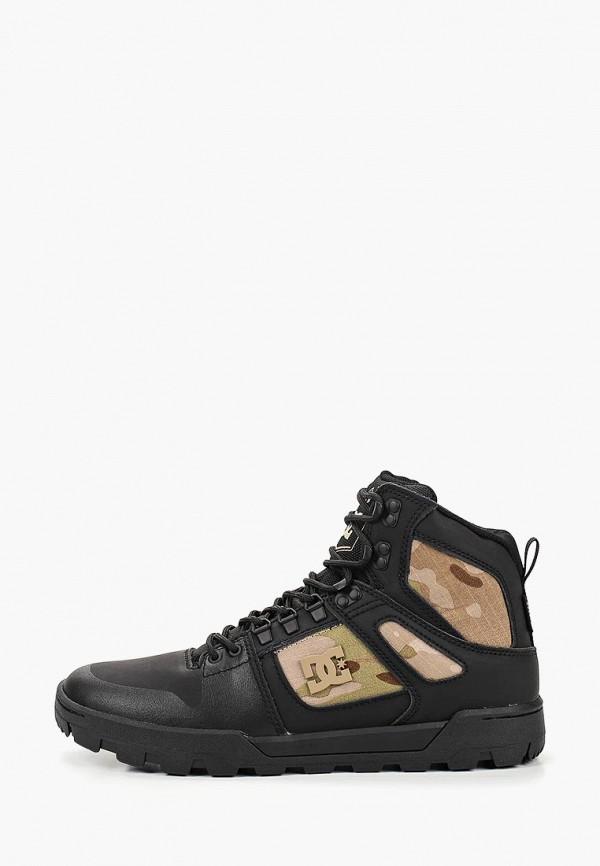 Купить Ботинки DC Shoes, PURE HT WR BOOT M BOOT BLO, dc329ameedp0, черный, Весна-лето 2019