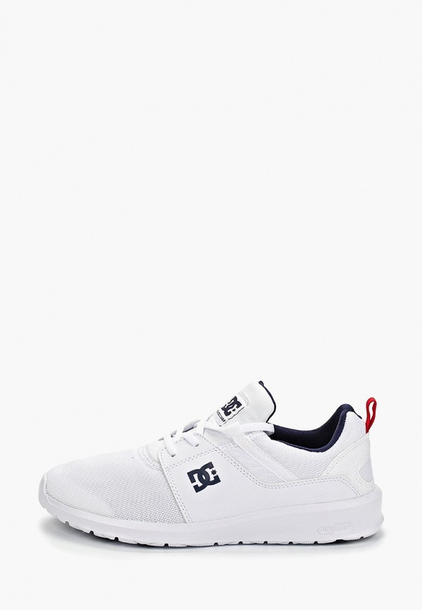 мужские кроссовки dc shoes, белые