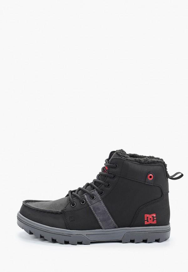 мужские высокие ботинки dc shoes, черные