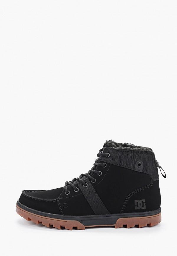 мужские ботинки dc shoes, черные