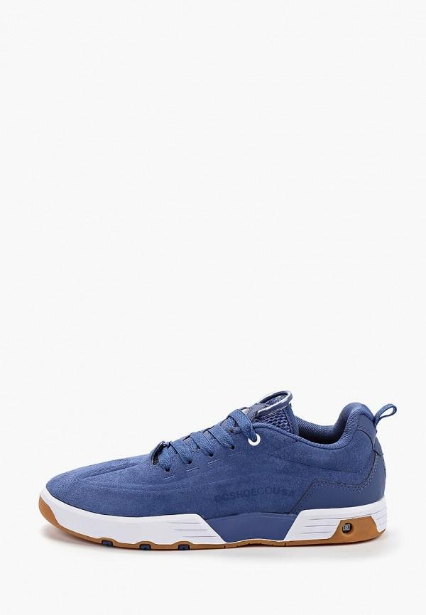 мужские кеды dc shoes, синие