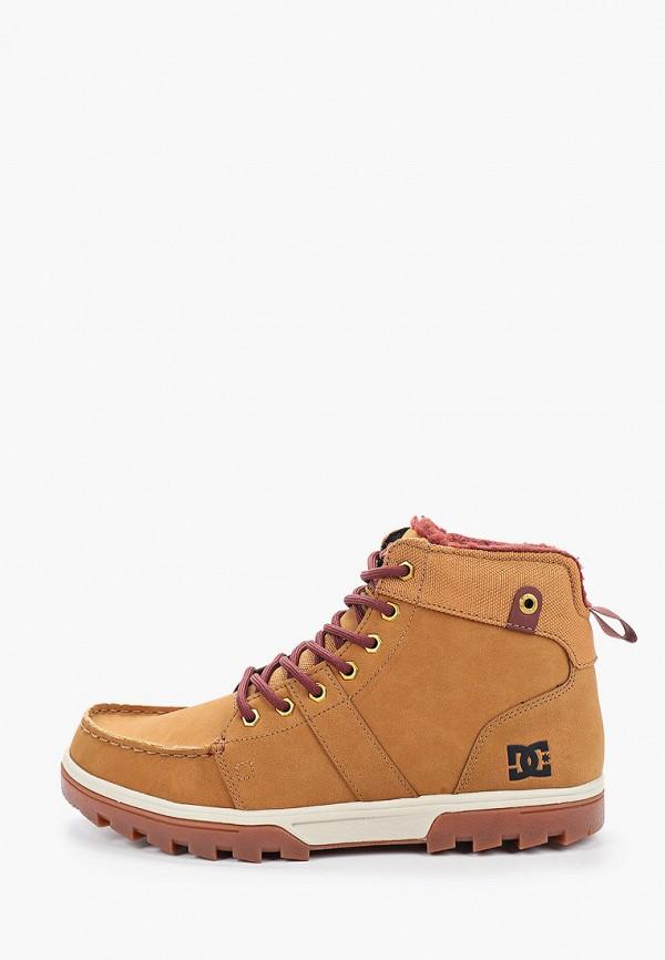 мужские высокие ботинки dc shoes, бежевые