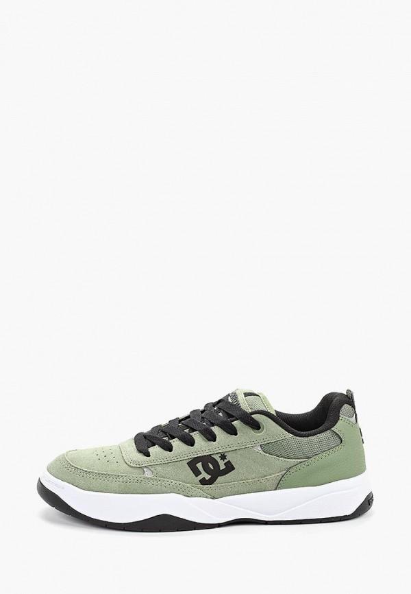 мужские кеды dc shoes, зеленые