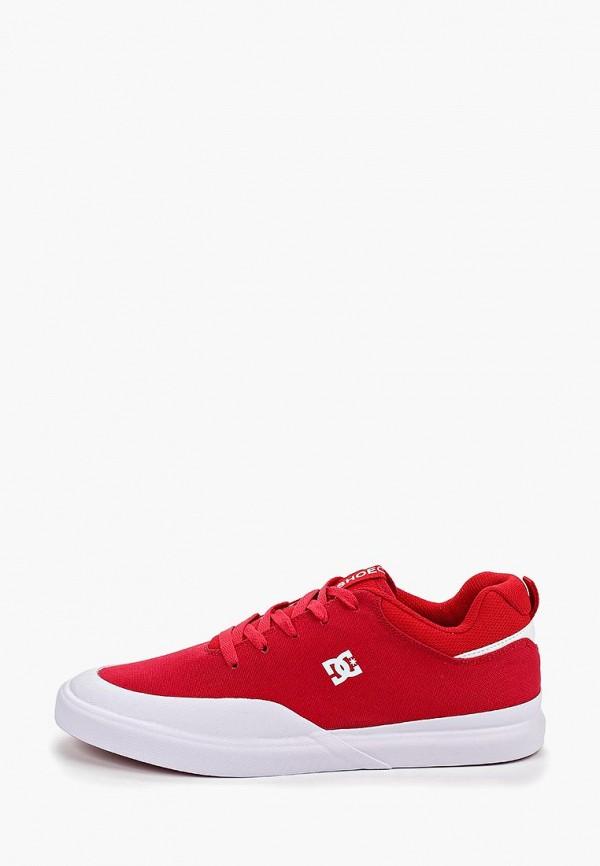 мужские кеды dc shoes, красные