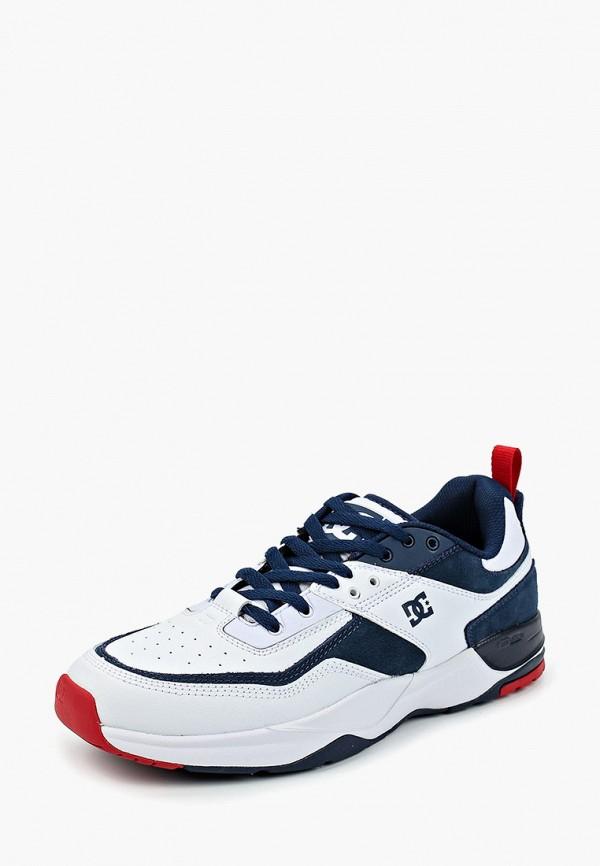 Фото 2 - мужские кроссовки DC Shoes белого цвета