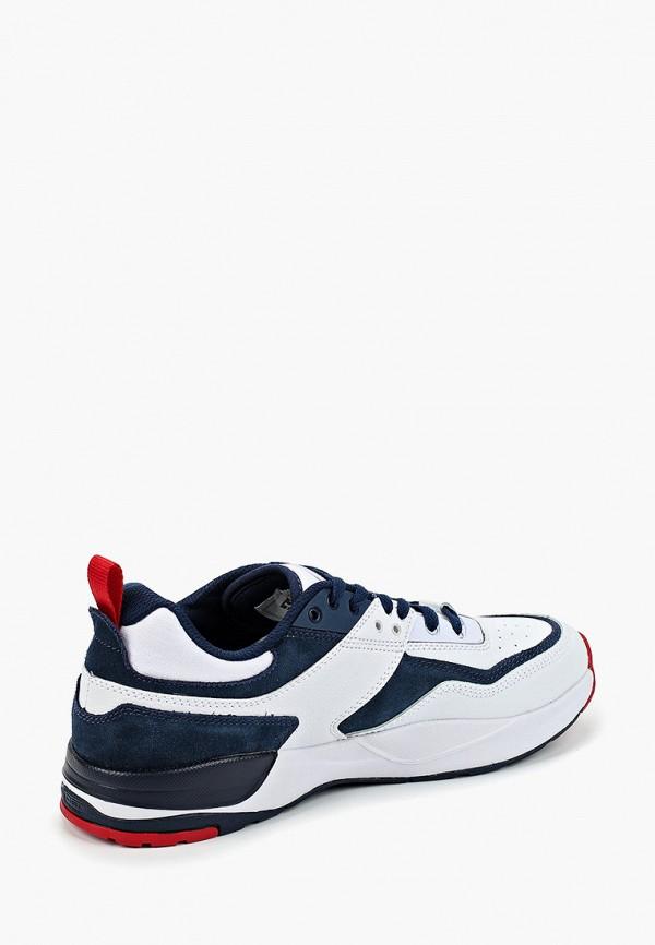 Фото 3 - мужские кроссовки DC Shoes белого цвета