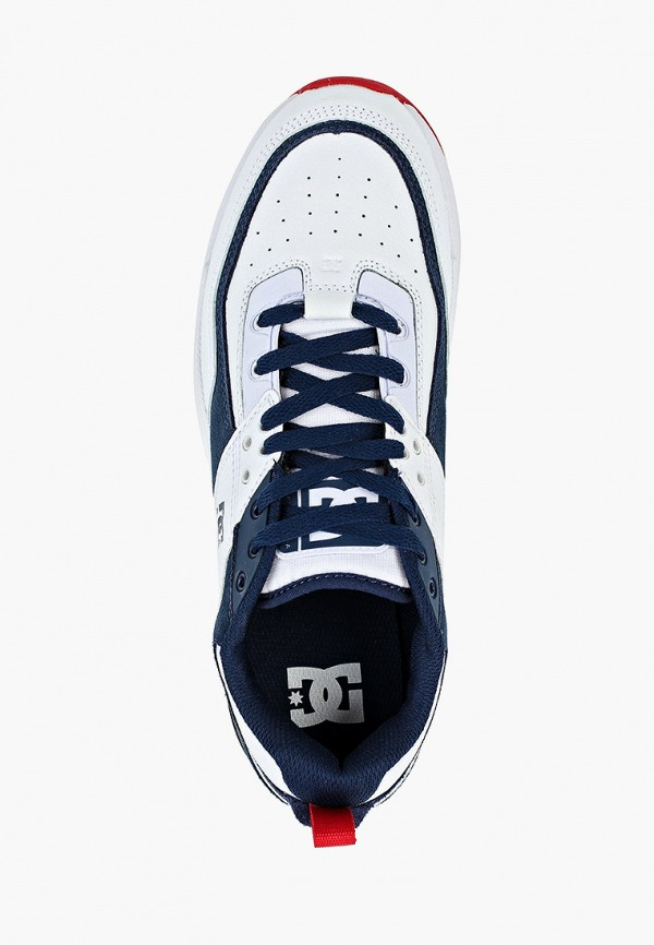 Фото 4 - мужские кроссовки DC Shoes белого цвета