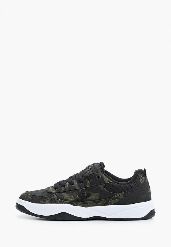 мужские низкие кроссовки dc shoes, зеленые