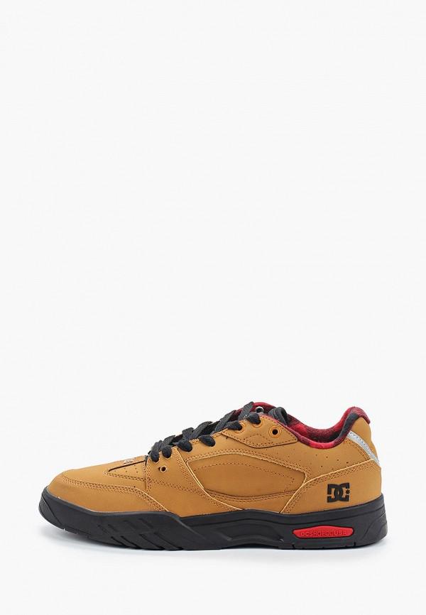 мужские низкие кроссовки dc shoes, коричневые