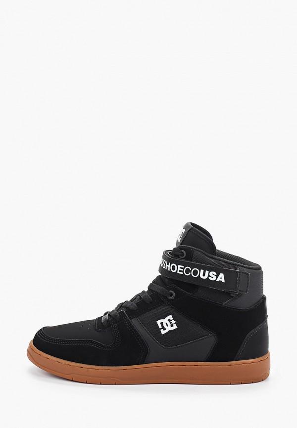 мужские высокие кеды dc shoes, черные