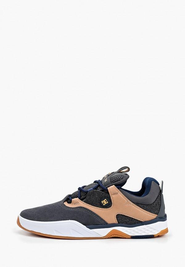 мужские низкие кроссовки dc shoes, серые