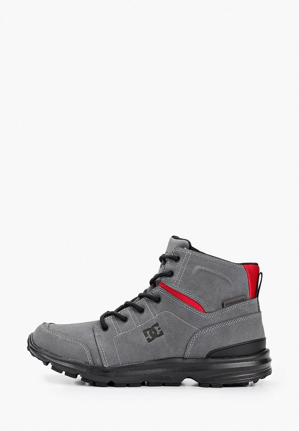 мужские ботинки dc shoes, серые