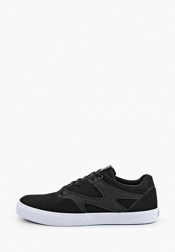 мужские низкие кеды dc shoes, черные