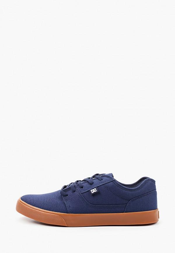 мужские низкие кеды dc shoes, синие