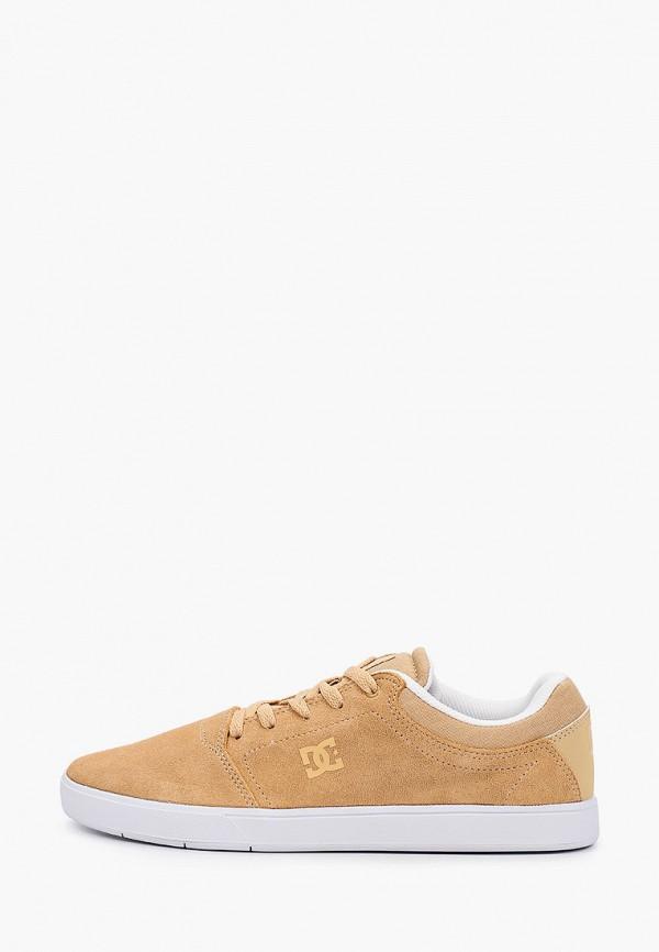 мужские низкие кеды dc shoes, бежевые
