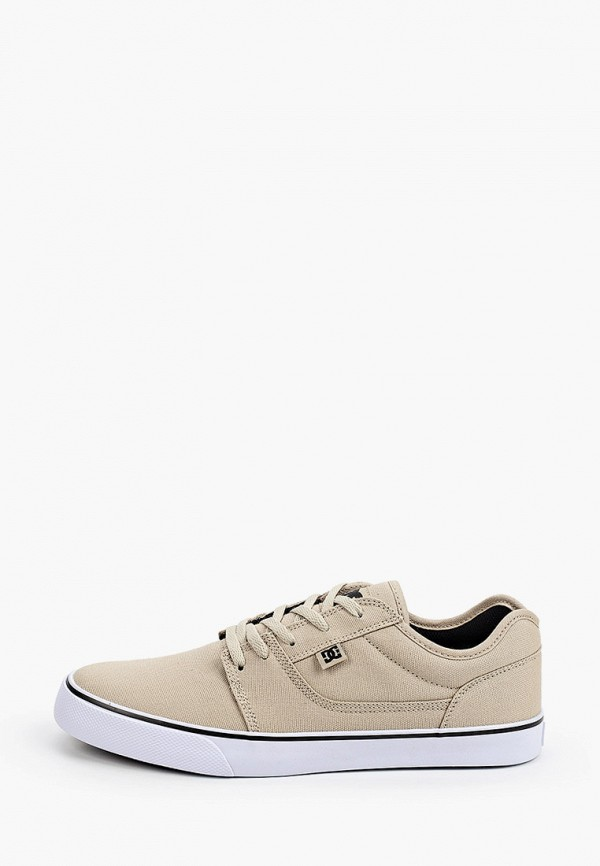 мужские кеды dc shoes, бежевые