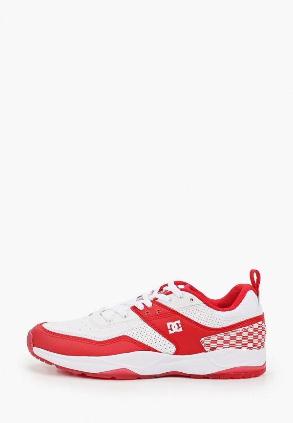 мужские кроссовки dc shoes, красные