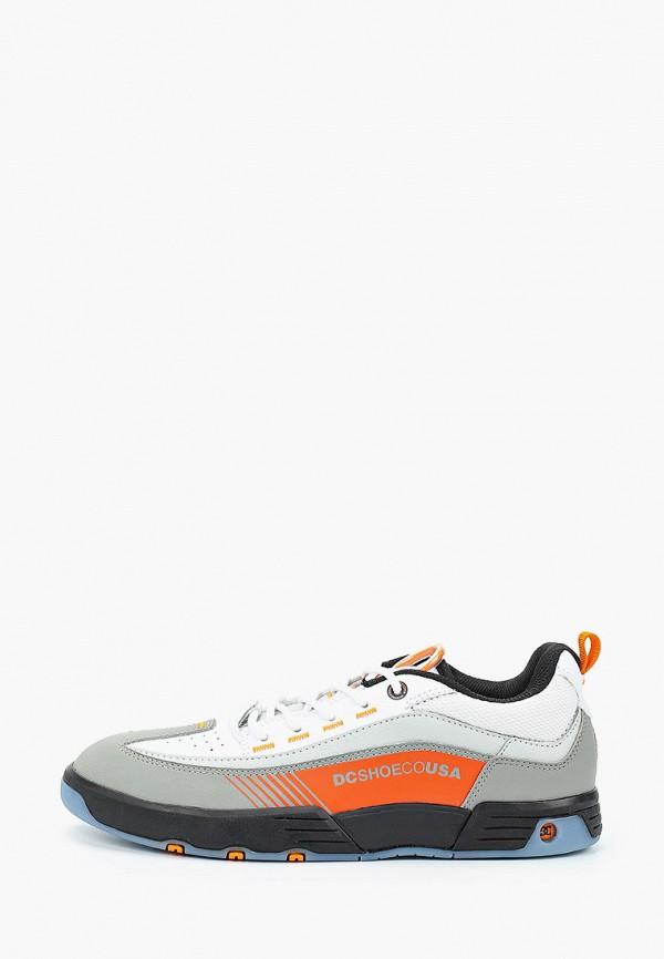 женские кроссовки dc shoes, серые