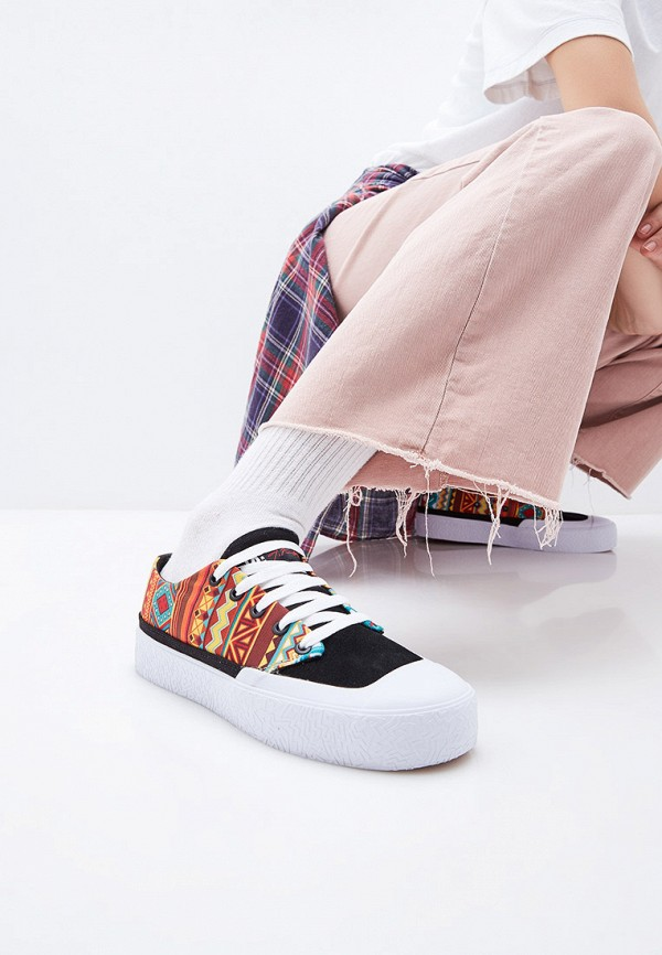 Фото 6 - мужские кеды DC Shoes синего цвета