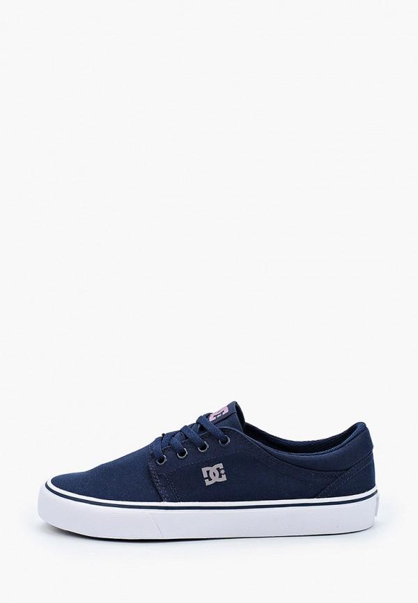 женские кеды dc shoes, синие