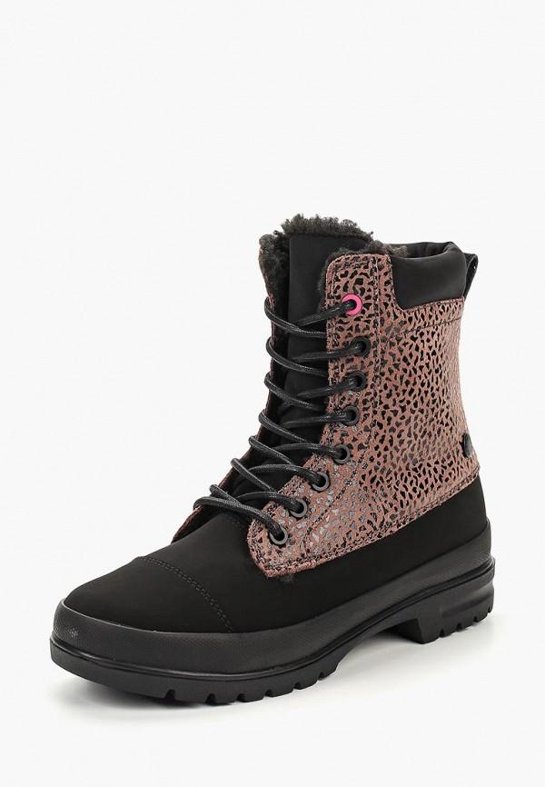 женские ботинки dc shoes, черные