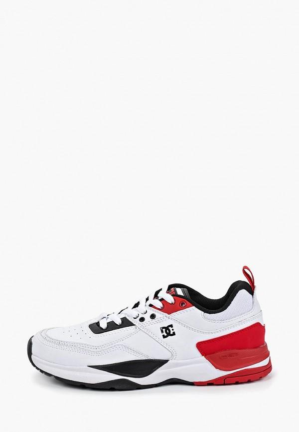 женские кроссовки dc shoes, белые